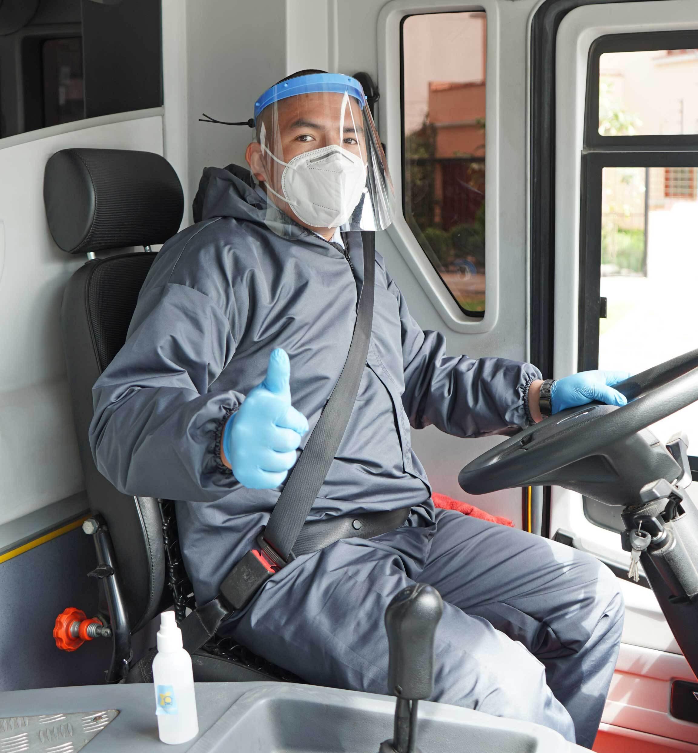 chofer bus ael