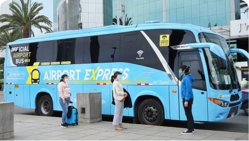 pasajeros airport express lima