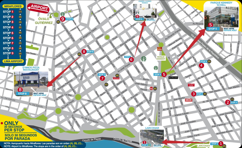 map Miraflores